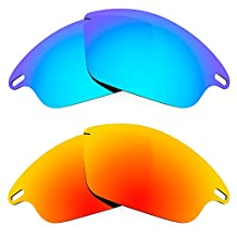 Revant Replacement Lenses for Oakley Fast Jacket 2 Pair Combo Pack K002