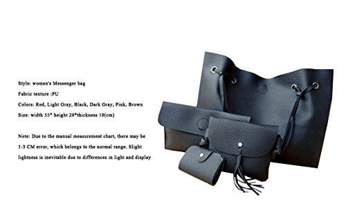 para mujer Bolso al Negro de One hombro Sintético Size COCO clothing 1H7qHf