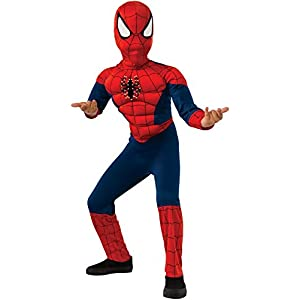 Rubie's Costume Marvel Spider-Man Deluxe Fiber Optic Costume, Small - 41TuickQ1jL - Rubie's Costume Marvel Spider-Man Deluxe Fiber Optic Costume, Small