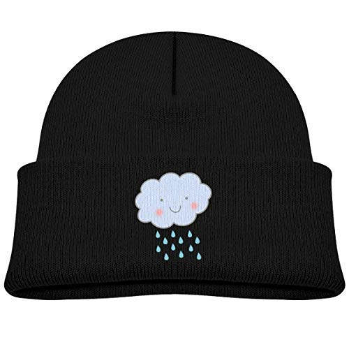 c5369131c44e Amazon.com  Infant Toddler Baby Kids Knitted Beanies Hat Rain Clouds ...