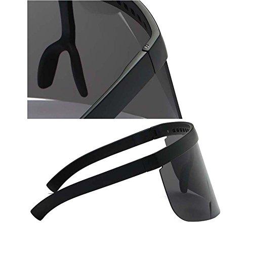 Color UGUAX de y Visera Tamaño 5 color Mujer Máscara Hombre para de Extragrande Sol Gafas 5 RRwrF7