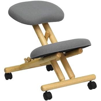 Amazoncom BetterPosture Saddle Chair  Ergonomic Back Posture