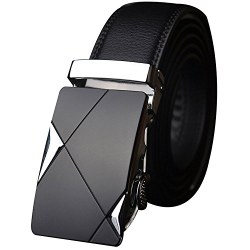 Satyam Kraft PU leather (Pack of 1) Adjustable Buckle Belts Fashion Waist Strap BELTS For Casual and Formal - Belt For Men and Boys, color Design For
