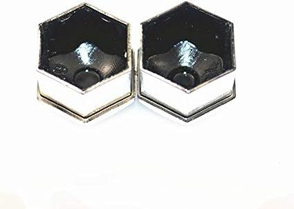 L-Yune Color Name : Black 17mm boulon 20PCS /Écrou de boulon de cache-vis auto cache-vis for Nissan TEANA QASHQAI X-Trail Subaru BRZ VIZIV-7 Levorg PALADIN BLUEBIRD
