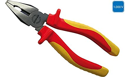 SUPER EGO SEH004200 - Alicate universal electricista aislada 1000V 160 mm