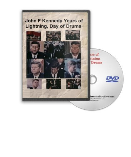 John F Kennedy - Years of Lightning, Day of Drums on DVD