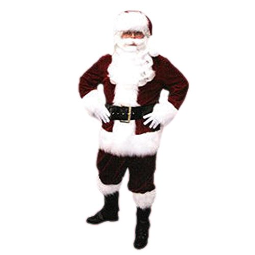 Velveteen Santa Claus Suit Adult - XX-Large