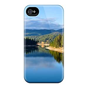 Jeffrehing Case Cover Protector Specially Made For Iphone 4/4s Scenery