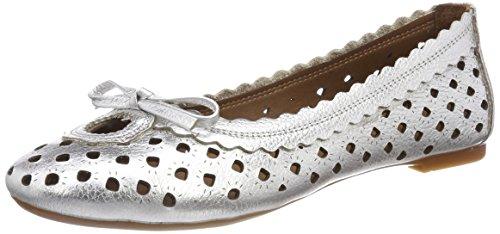 Andrea Conti Damen 0025822 Geschlossene Ballerinas Silber (Silber)