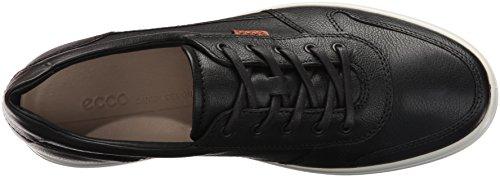 Ecco Heren Zachte 7 Mode Sneaker Black / Lion