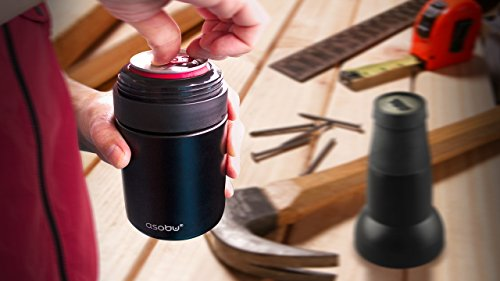 Asobu Frosty Beer 2 Go Vacuum Insulated Double Walled Stainless Steel Beer Bottle and Can Cooler with Beer Opener (Copper) by asobu (Image #1)