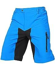 speedspo Herren Outdoor Sport MTB Hose Multifunktion Blau Gr. XL