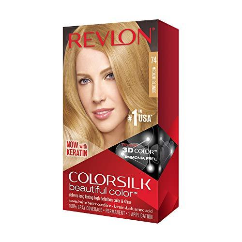 Revlon ColorSilk Haircolor, Medium Blonde