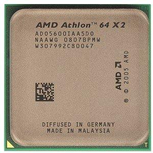 Dual Core 2x512kb L2 Cache - AMD Athlon 64 X2 5600+ Brisbane 2.9GHz 2 x 512KB L2 Cache Socket AM2 65W Dual-Core Processor