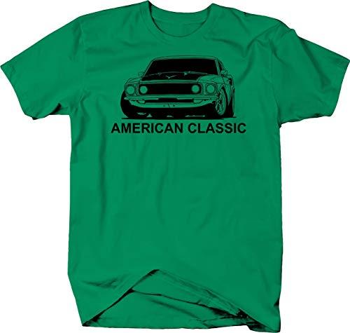 American Classic Ford Mustang Boss GT Hotrod Tshirt - Medium (Charger Kelly Gt)