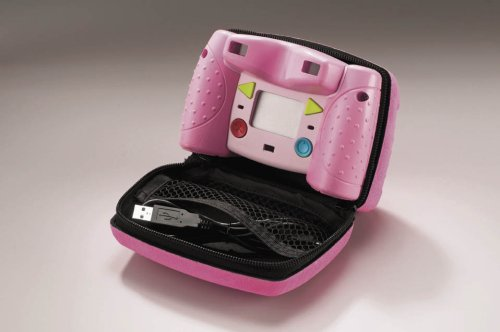 Kid-Tough Digital Camera Case - Pink by Fisher-Price (Image #1)