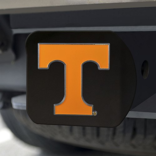 Black Ncaa Cover - Fanmats NCAA Tennessee Volunteers University of Tennesseecolor Hitch - Black, Team Color, One Size