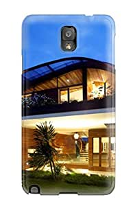 Durable Case For The Galaxy Note 3- Eco-friendly Retail Packaging(modern Houses )