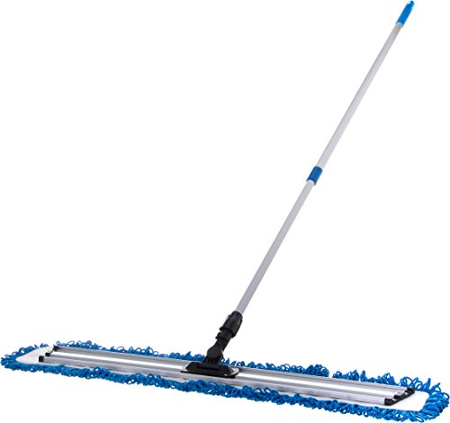 Carlisle 363313614 Polyester/Polyimide Blend Dry Mop Pad, 36'' Length, Blue (Pack of 12) by Carlisle (Image #4)