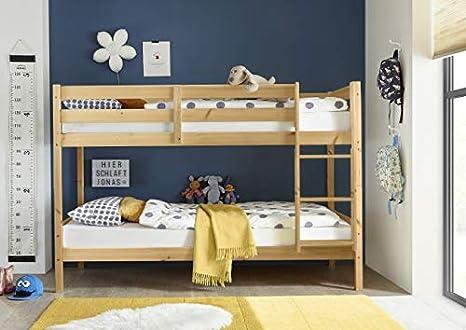 Jugendmobel24 De Alain Bunk Bed Solid Pine En 747 1 747 2 Fsc Certified Can Be Separated To Single Beds Children S Room Bunk Bed Double Bed Amazon De Home Kitchen