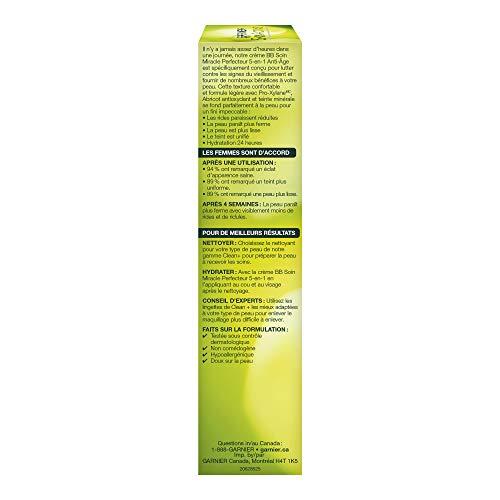 41TunAemAML - Garnier SkinActive BB Cream Anti-Aging Face Moisturizer, Light/Medium, 2.5 Ounce