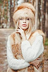 This hat is made of real red fox fur and has a tail attached to it, A very stylish fur hat made of whole pelt with a huge tail (we can also make one without a tail). Looks outstanding! The fur is wild. Fabric dressing - soft, shiny and silky!...