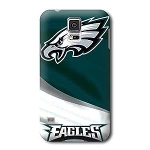 S5 Case, NFL - Philadelphia Eagles - Samsung Galaxy S5 Case - High Quality PC Case