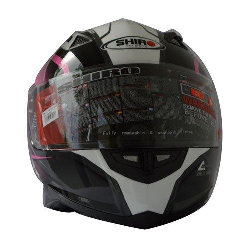Shiro Casco Color Rosa