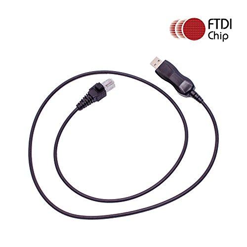 maxtop APCUSB-GM300 FTDI USB Programming Cable for Motorola GM300 M10 M100 M120 CDM1250 CDM1550 CDM1550LS Sportbase