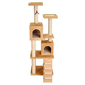 Image of CKO Kitty Tree Condo & Play Tower Pet Supplies