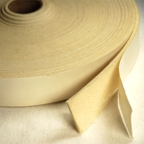 F50 Stripping With Adhesive 1 IN Wide 50 FT Long 1/16 IN Thick The Felt Store