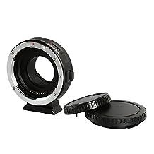 VILTROX EF-M1 Auto Focus Exif Lens Adapter for Canon EOS EF EF-S Lens to Micro Four Thirds cameras Camera GH4 GH5 GF6 GF1 GX1 GX7 E-M5 E-M10 E-PL5