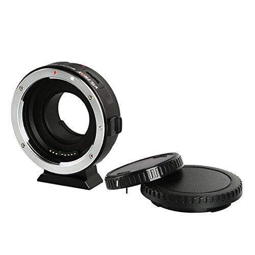 VILTROX EF-M1 Auto Focus Exif Lens Adapter for Canon EOS EF EF-S Lens to Micro Four Thirds EF-M43 cameras Camera GH4 GH5 GF6 GF1 GX1 GX7 E-M5 E-M10 E-PL5 by VILTROX