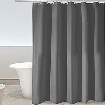 Eforgift Classical Fabric Shower Curtain Water Resistant And Mildew Free Bath Extra Long Non