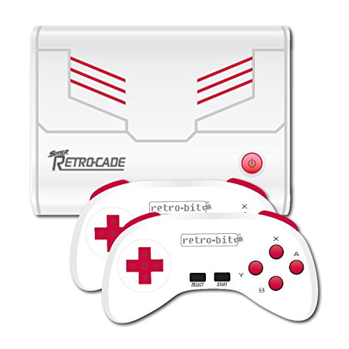 Amazon.com: Retro-Bit Super Retro-Cade Plug and Play Game ...
