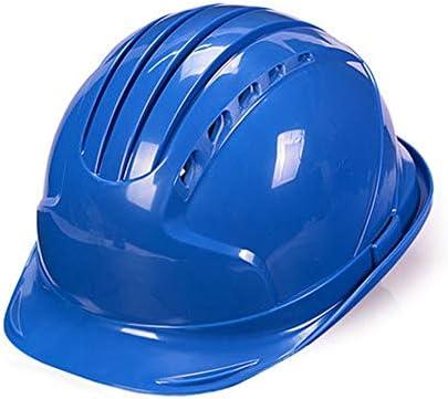 Rui Peng 安全性 ハード帽子 - 個人用保護具、建設、改築および日曜大工プロジェクト/PP「クールに保つ」換気ヘルメット、完全に調整可能、キャップスタイル、 (Color : D)