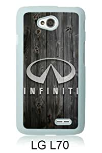 PAN Personalized Design Infiniti logo 1 White LG L70 Case