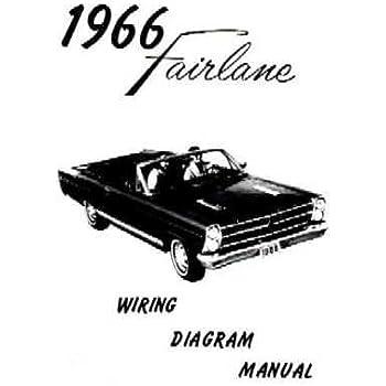 Amazon.com: 1967 FORD FAIRLANE Wiring Diagrams Schematics ...