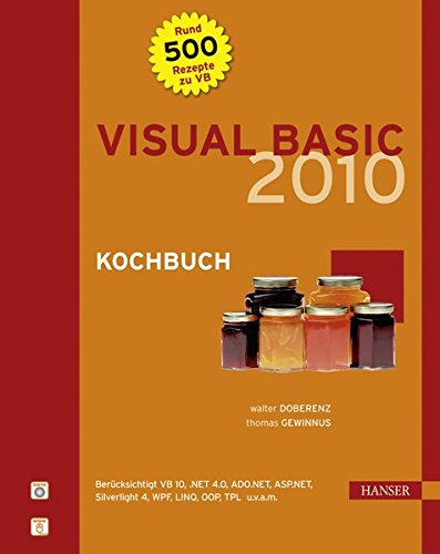Visual Basic 2010 Kochbuch. Mit DVD