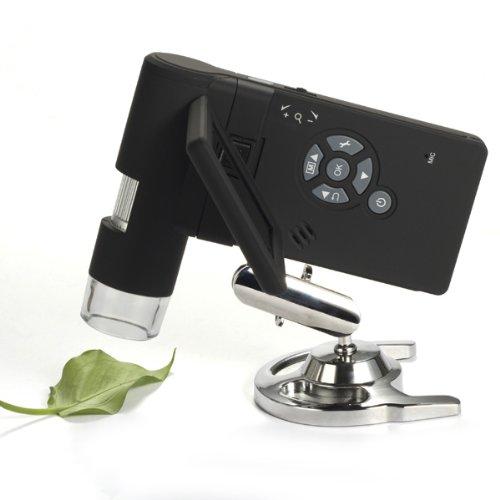 Sourcingbay 3 inch Handheld 500x 5M 8 LCD Digital Video Camera Biological Microscope 4x digital zoom
