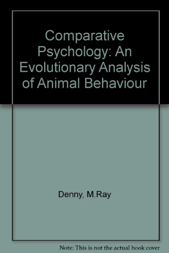 Comparative Psychology: An Evolutionary Analysis of Animal Behaviour