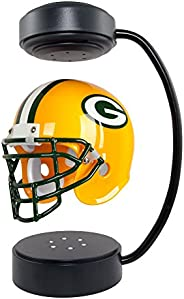 NFL Hover Helmet - Collectible Levitating Football Helmet with Electromagnetic Stand, Green Bay Packers