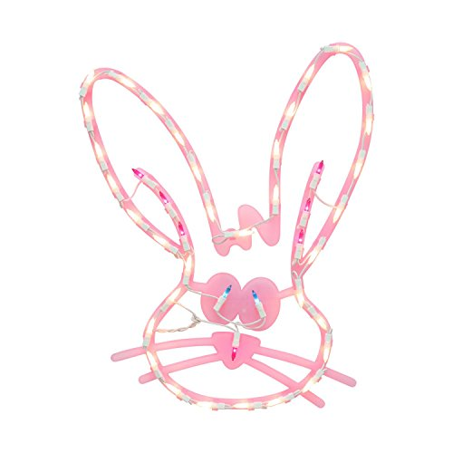 Outdoor Lighted Easter Bunny - 2