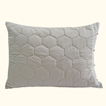 Lexington Pillow Sham Taupe Standard (Lexington Pillow)