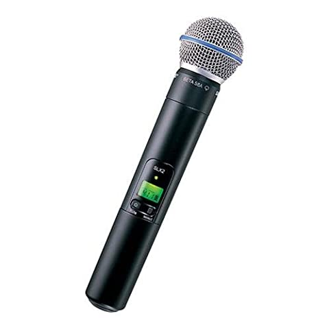 Shure SLX2/BETA58 Handheld Transmitter with BETA 58A Microphone, H5 (Shure Ulx Wireless Microphone)