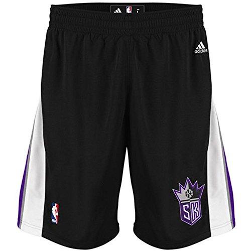 Adidas Swingman Basketball Shorts - Sacramento Kings Adidas Black Swingman Performance Shorts (S)