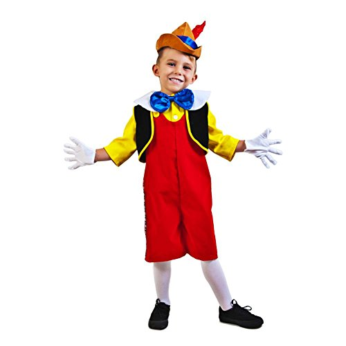 Child's Complete Pinocchio Costume (Toddler -