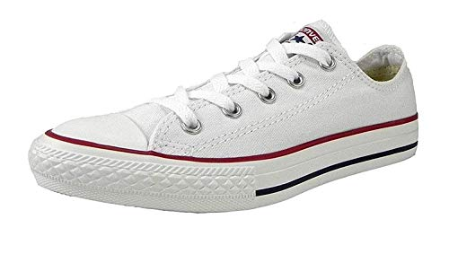 Converse All Star Low Top Kids/Youth Shoes Boys/Girls Sneakers (13.0 kids, Low Optical White)