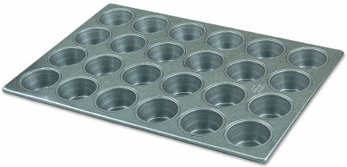 Alegacy 2043 Professional Aluminized Steel 24-Cup Muffin and Cupcake (Aluminized Steel Steel Muffin Pan)