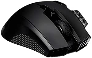 Corsair Ironclaw RGB Wireless, Rechargeable Gaming Mouse with Slipstream Wireless Technology, Black